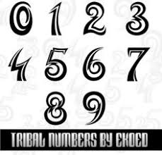 tattoo u0027s for u003e tattoo number font styles tat fonts pinterest