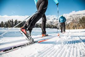 cross country skiing within the kitzbüheler alps