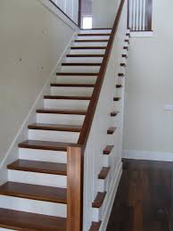 unfinished stair treads hardwood founder stair design ideas