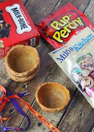 edible treats diy doggie edible treat bowls for trick or treaters