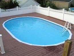 semi inground pool semi inground pool installations semi pools