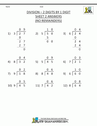 Multiplication By Two Digits Worksheets Marvelous Free Division Worksheets 4th Grade Math 3 Digits By 1