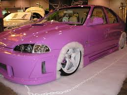 mitsubishi eclipse ricer pink honda civic 1 sep by autosalon jpg