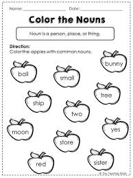 common noun worksheet common noun proper noun possessive noun