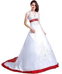 brautkleid wei rot brautkleider vantexi in rot für damen