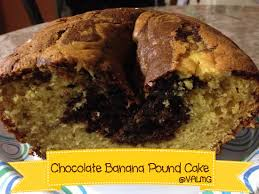 chocolate banana pound cake recipe from val u0027s kitchen