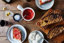 cuisine tomate pan con tomate with burrata recipe on food52