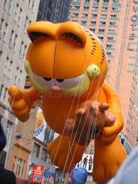 garfield balloon in macy s thanksgiving day parade editorial image