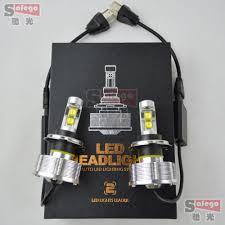 Led Light Bulbs For Headlights by Aliexpress Com Buy 5sets 60w Eti Chip Led Headlight H4 Car Light