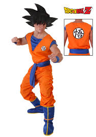 halloween costume in party city this costume looks ridiculous with that huge wig lol goku