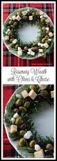 rosemary olive u0026 cheese wreath quick and easy to assemble for