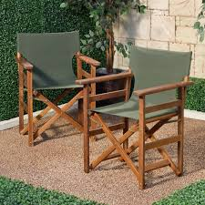 Gci Outdoor Pico Arm Chair Directors Chair Outdoor Barbuda Folding Teak Director Chair