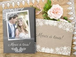 remerciement mariage original cartes de remerciements de mariage avec photos livraison en 48 h