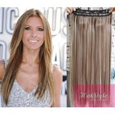 one hair extensions 16 one clip in hair weft extension