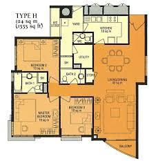 The Parc Condo Floor Plan Parc Palais Condo Details Hume Avenue In Clementi Park Upper
