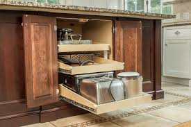 Pullouts For Kitchen Cabinets Kitchen Cabinet Storage Solutions Enhancements Ackley Llc Base