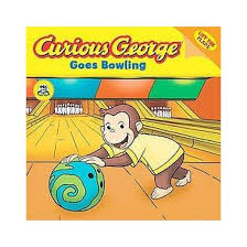 curious george bowling curious george paperback