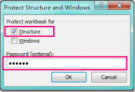 how to prevent others from inserting worksheet in excel