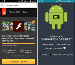 android adobe flash player android trojan disguises itself as a flash player update to