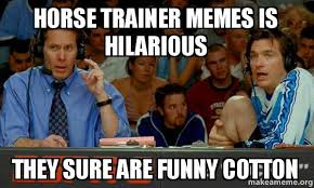Trainer Meme - horse trainer memes is hilarious they sure are funny cotton cotton