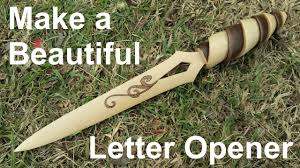 unique letter opener make a simple yet beautiful letter opener