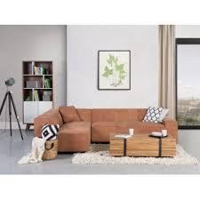 canap cuir cognac beliani canapé d angle canapé en cuir vintage cognac sofa adam