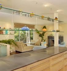sleek functional and versatile glass shelving designs for stylish