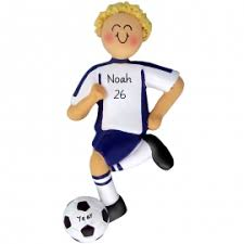 soccer ornaments to personalize soccer christmas ornaments gifts for you