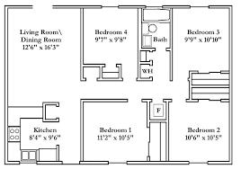 floor plans for 4 bedroom houses house plans 4 bedroom 4 bedroom floor plans house plans 4 bedrooms