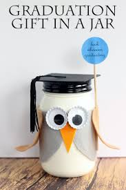 everyone will love getting this owl graduation gift in a jar make
