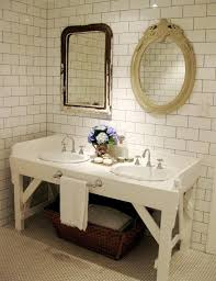 vintage bathrooms ideas vintage table for bathroom vanities idea home decor