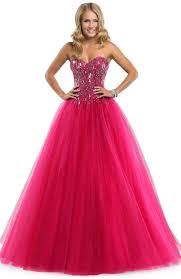 pink long tulle ball gown prom dress kına içün pinterest