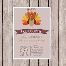 Thanksgiving Potluck List Friendsgiving Invitation Thanksgiving Feast Invitation