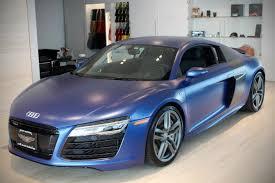 Audi R8 Blue - used 2014 audi r8 5 2 quattro roslyn ny