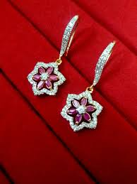 best gifts for women ruby cz flower hanging for women best gift to