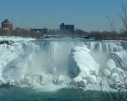 niagara falls american falls frozen american falls photo yvonne
