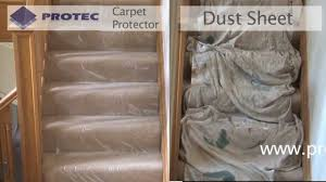 How To Put Rug On Stairs by Carpet Protector From Protec To Protect From Dust Dirt And