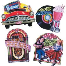 50s sock hop supplies 50s decorations partycheap takes