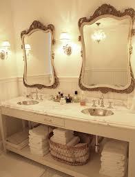 Fine Double Sink Bathroom Mirror Ideas Vanity Design On Decorating - Bathroom sink mirror