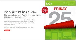 ipod nano black friday deals apple black friday sale announced for 2011