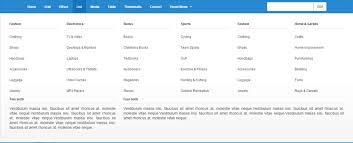 menu templates for bootstrap 14 bootstrap mega menu templates designerslib com