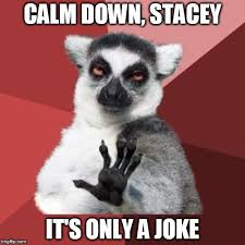 Stacey Meme - chill out lemur meme imgflip