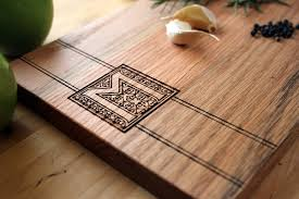 monogramed cutting board diy wood cutting from vanabear3 loveitsomuch