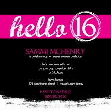 invitations for sweet 16th birthday party drevio invitations design