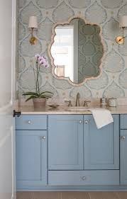 277 best wallpapered bathroom images on pinterest bathroom ideas jessie preza photography commercial editorial and lifestyle photography wallpaper accent wall bathroomwallpaper cabinetsblue cabinetssmall
