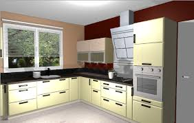 plan de cuisine en 3d cuisine douillet le grand lemps