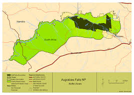 Rivers In Africa Map by South African National Parks Sanparks Official Website