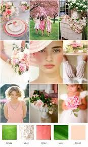 april wedding colors 56 best wedding colour schemes images on wedding