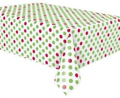 red white polka dot table covers 21 best christmas party plates images on pinterest party plates