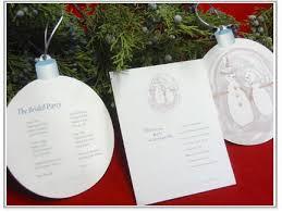 christmas wedding programs snowman wedding ideas wedding ideas and themes
